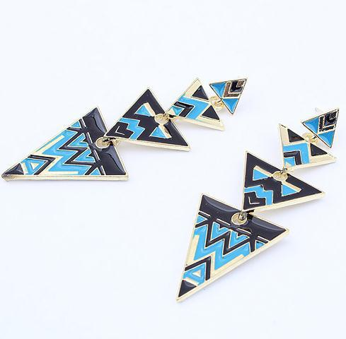 Min-order-is-10-mixed-1PCS-641-fashion-multicolor-crystal-bow-earrring-stud-earring-wholesale-jewelry